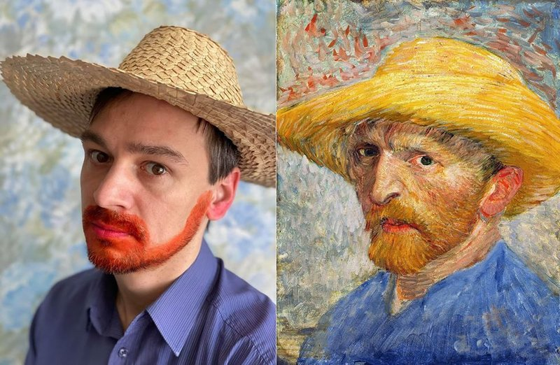 Russian Speakers Imitate Art In A Time Of Coronavirus Confinement On Facebook