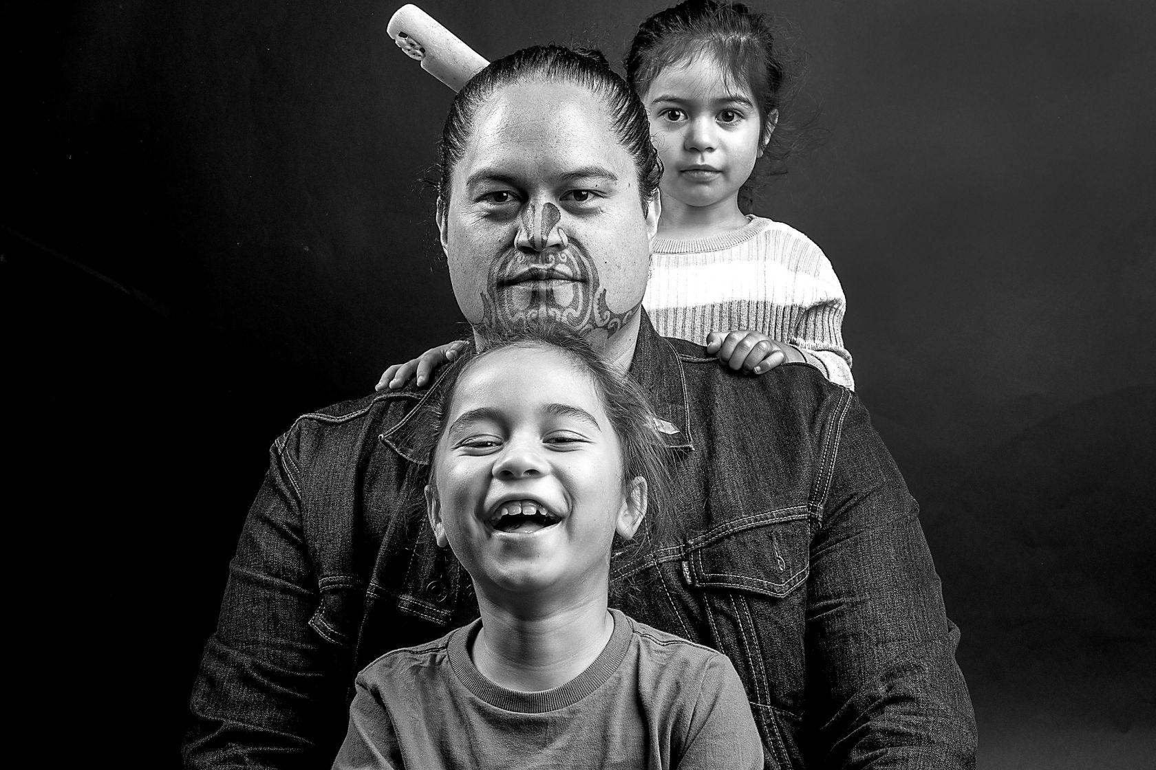 Koia te aroha: Ngā pāpā Māori – Just love: Māori dads