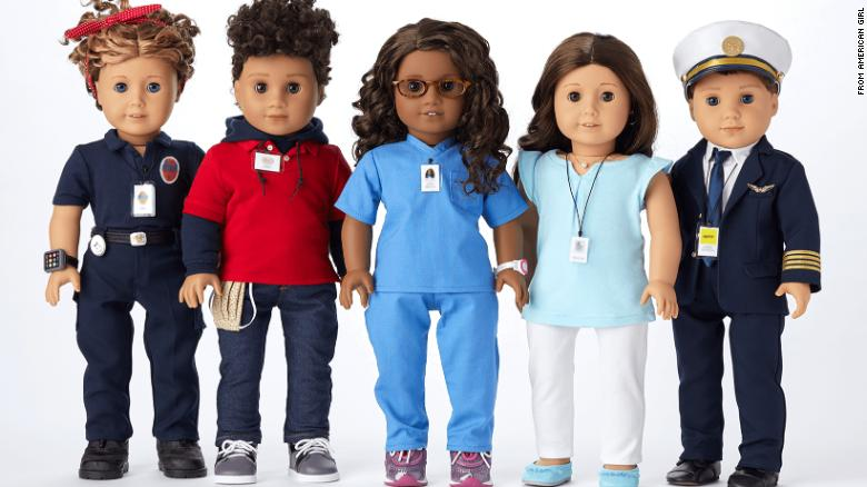 American Girl honors pandemic heroes by turning them into one-of-a-kind dolls