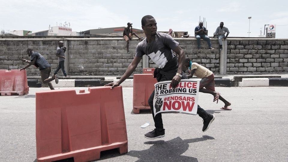 In Nigeria, art is spreading the word about police brutality