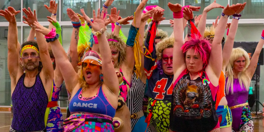 'The dancefloor is a religious experience': the unselfconscious retro joy of the home dance workout