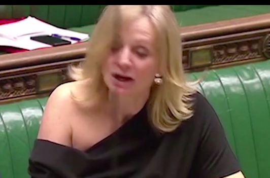 Off-the-shoulder dress 'selling fast' after Labour MP Tracy Brabin called 'slapper' for wearing outfit in Parliament.