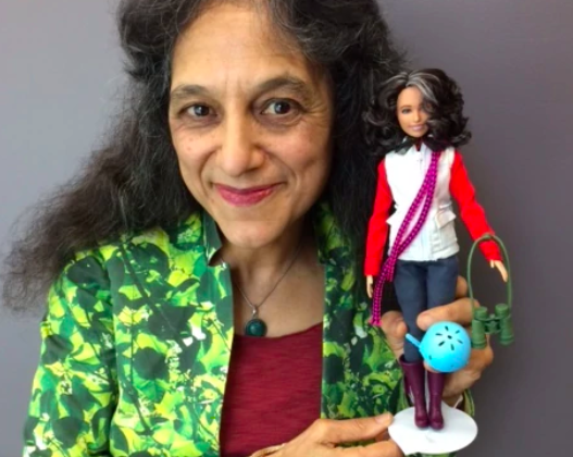 She started climbing trees as a kid. Then this ecologist helped create scientist Barbie.