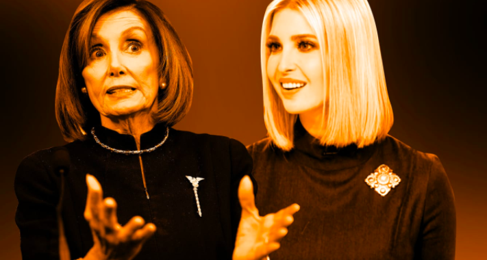 Brooches Get Political, Thanks to Nancy Pelosi and Ivanka Trump