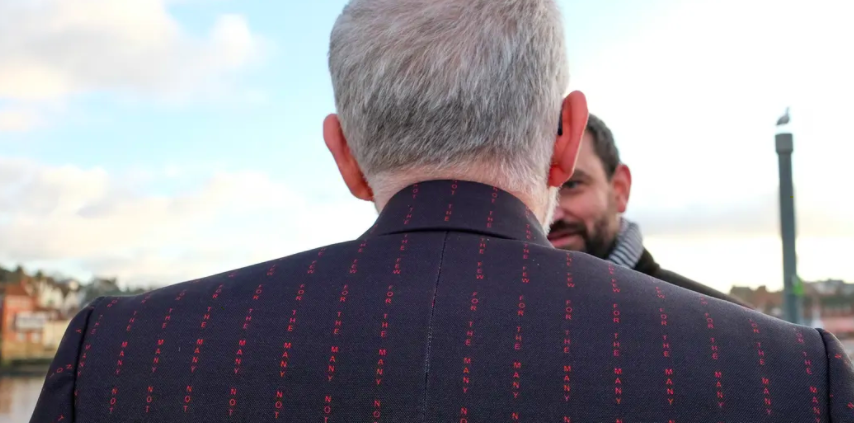 Socialist pinstripe: the secret message stitched into Jeremy Corbyn's new suit