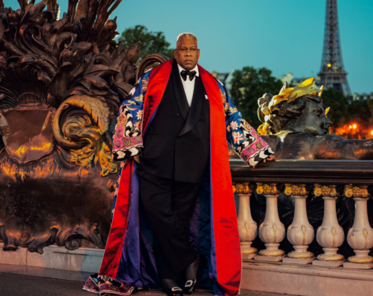 ANDRÉ LEON TALLEY DISHES ON GALLIANO, MCQUEEN, AND LAGERFELD, DARLING