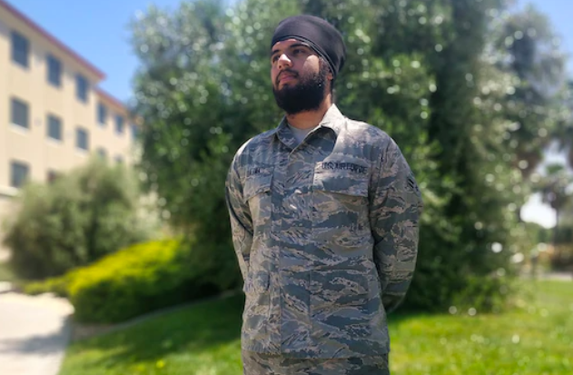 A Sikh airman petitioned the Air Force to let him wear a turban and beard. He just won.