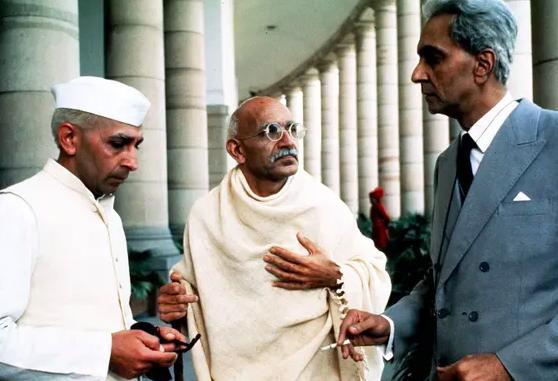 I've never seen … Gandhi