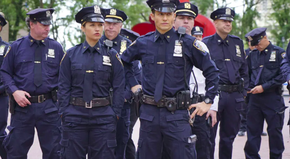 Half of US broadcast network dramas are about cops