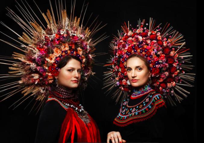 Spectacular flower crowns rule in Ukraine