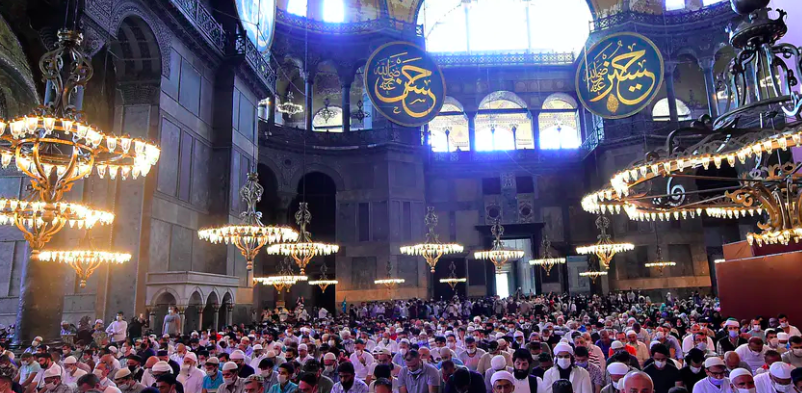 Why Hagia Sophia remains a potent symbol of spiritual and political authority