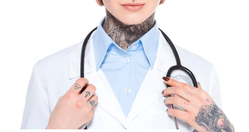 Dynamic tattoos promise to warn wearers of health threats