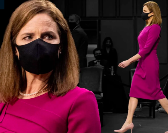 Don't Let Amy Coney Barrett's Confirmation Hearing Dress Fool You