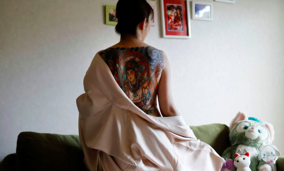 Japan's taboo-breaking tattoo fans – in pictures