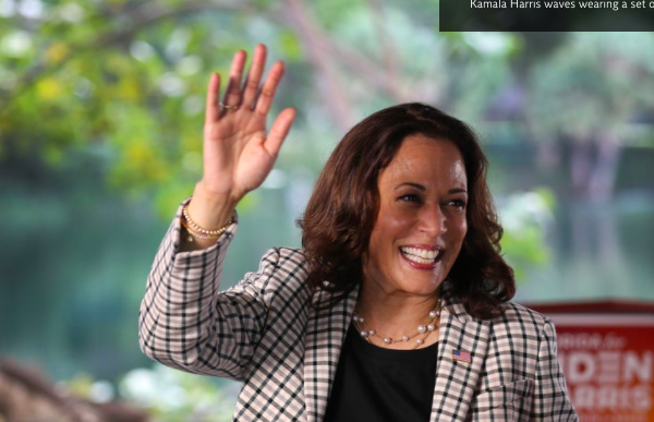 WHY ARE PEOPLE WEARING PEARLS ON ELECTION DAY TO SUPPORT KAMALA HARRIS AND RUTH BADER GINSBURG?