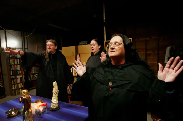 Halloween isn't about candy and costumes for modern-day pagans – witches mark Halloween with reflections on death as well as magic