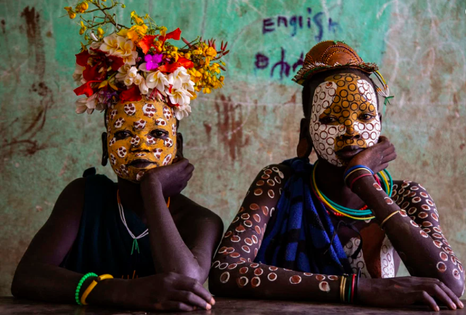 A rare look inside the daily life of a rural African tribe