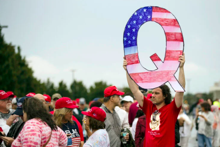 QAnon: The alternative religion that's coming to your church