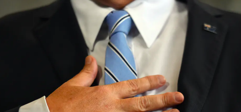 The politics of the necktie — 'colonial noose', masculine marker or silk status symbol?