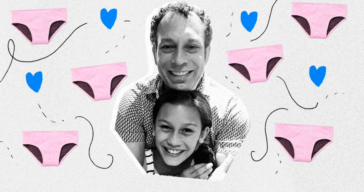 This dad started a swimwear line with his transgender daughter. It's giving other families hope.