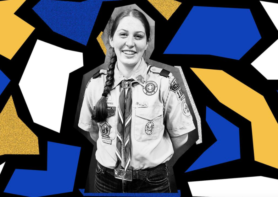 The first girls have become Eagle Scouts. It's taken more than 100 years.