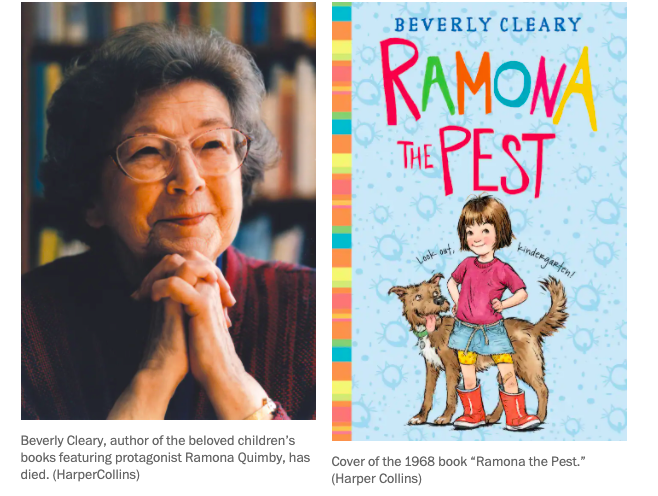 Beverly Cleary taught girls to make a brave demand: Love me for how I am
