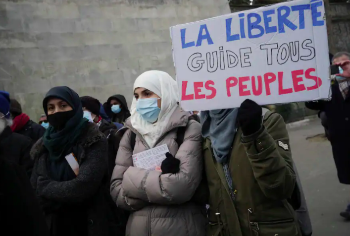France's ban on the veil looks far more sinister in historical context