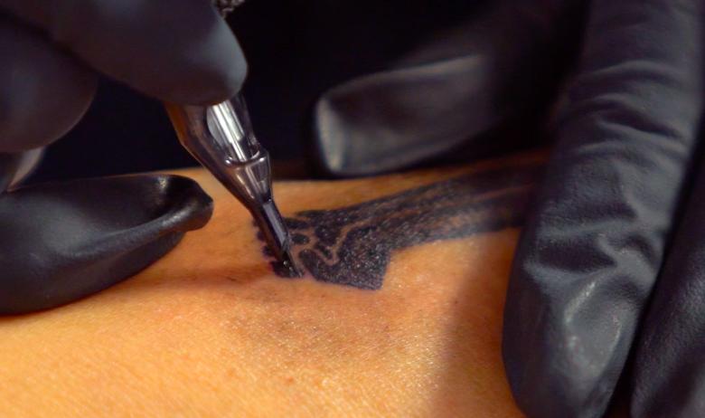 Doreen Garner's Invisible Man Tattoo