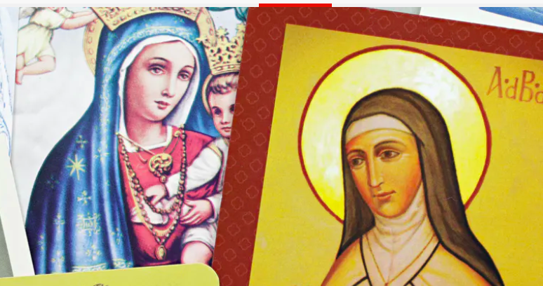 What can you do with unwanted holy cards and Grandma's religious statues? Well, that depends