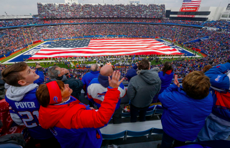 How do Americans feel about the anthem at sporting events? It depends which Americans you ask.