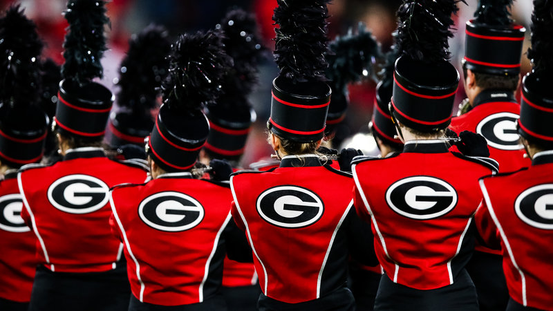 Georgia Marching Band Drops Song From 'Gone With The Wind' For 'Georgia On My Mind'