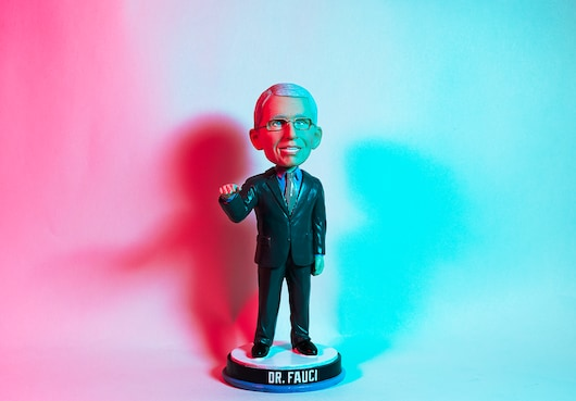 The Fauci Bobblehead. It's No Roman Sculpture, But ….