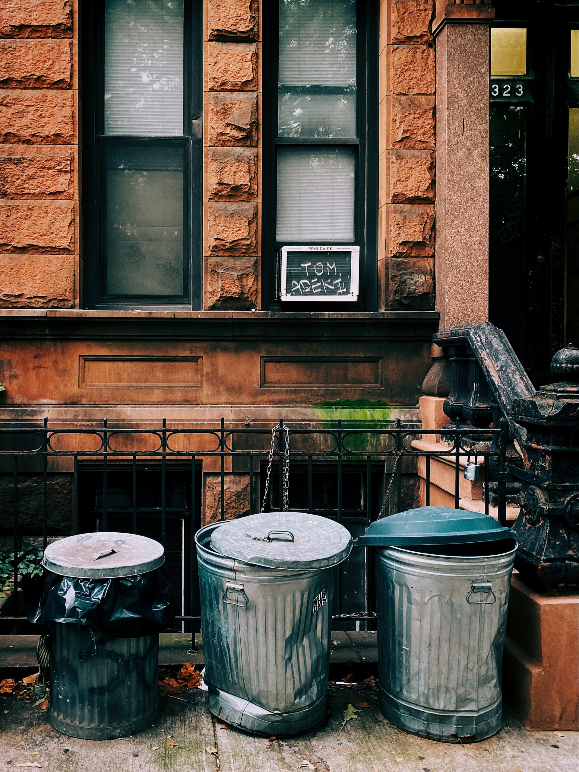 Garbage cans causing blight to neighborhoods